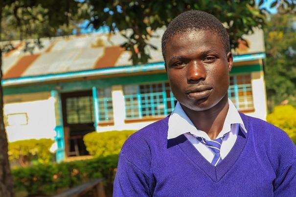 uczeń pomoc dzieciom w Kenii Fundacja