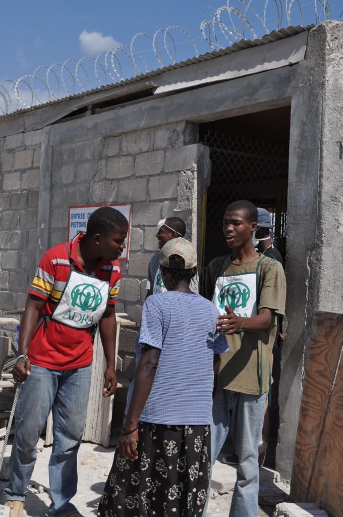 Praca ADRA zanim żywność dotrze do osób na Haiti