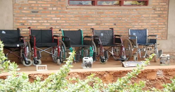 Wózki inwalidzkie dotarły do mety