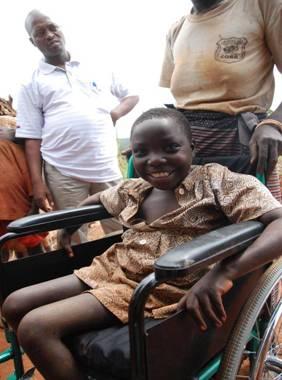 Wózki inwalidzkie są już w Rwandzie!