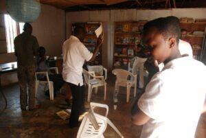 Rwanda: pomoc dzieciom niewidomym