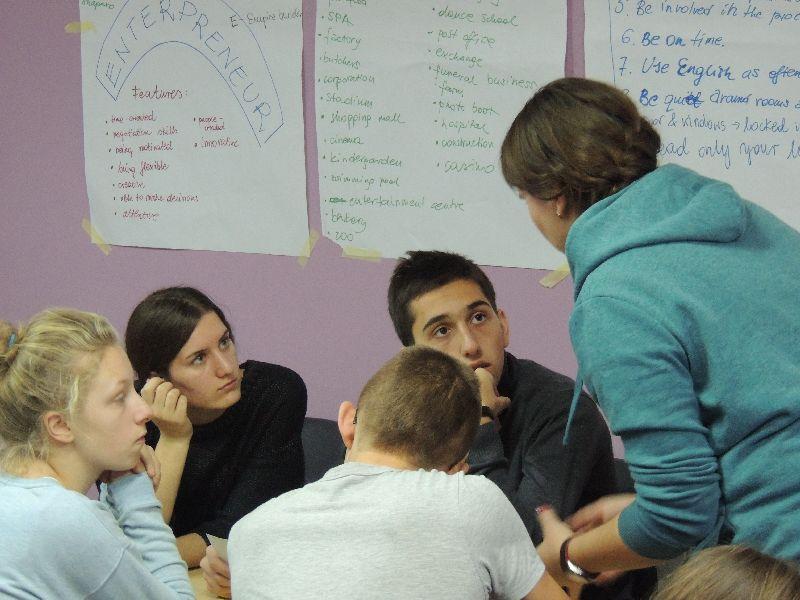 Młodzi mówili o przedsiębiorczości