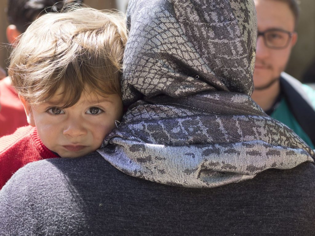 Pomoc humanitarna dla ludzi uwięzionych w Grecji