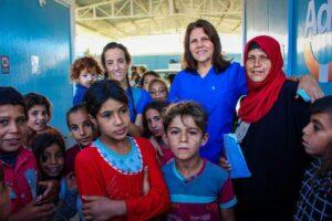 Pomoc medyczna dla osób dotkniętych wojną w Iraku