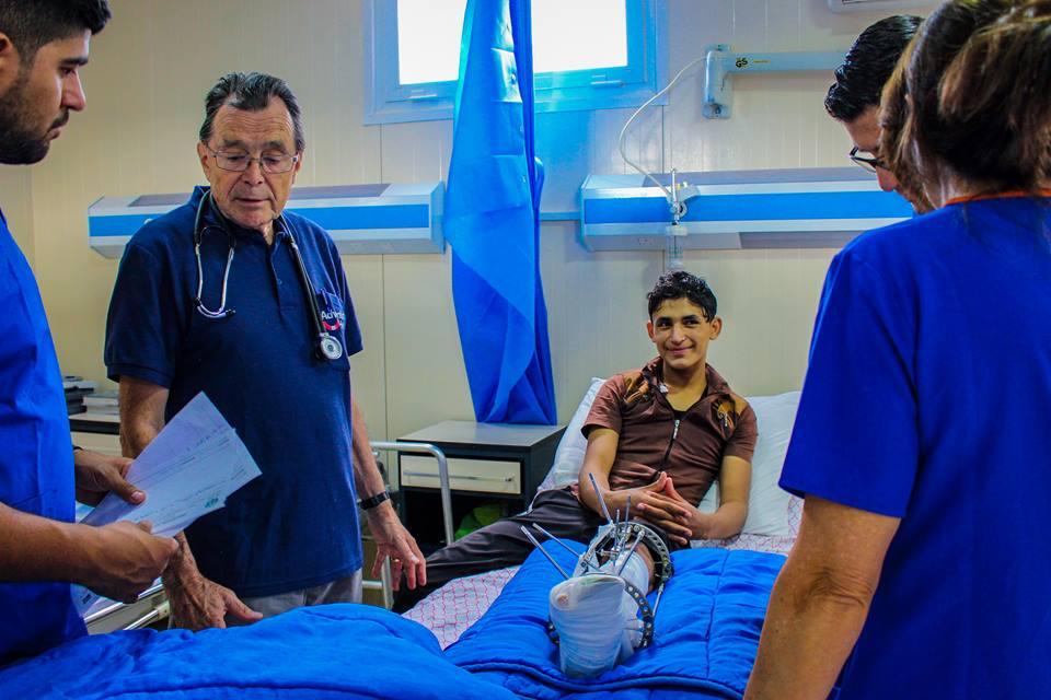 Cierpienie dzieci w Iraku