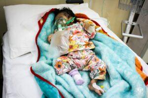 Historia irackiego niemowlęcia Iakin Hamad