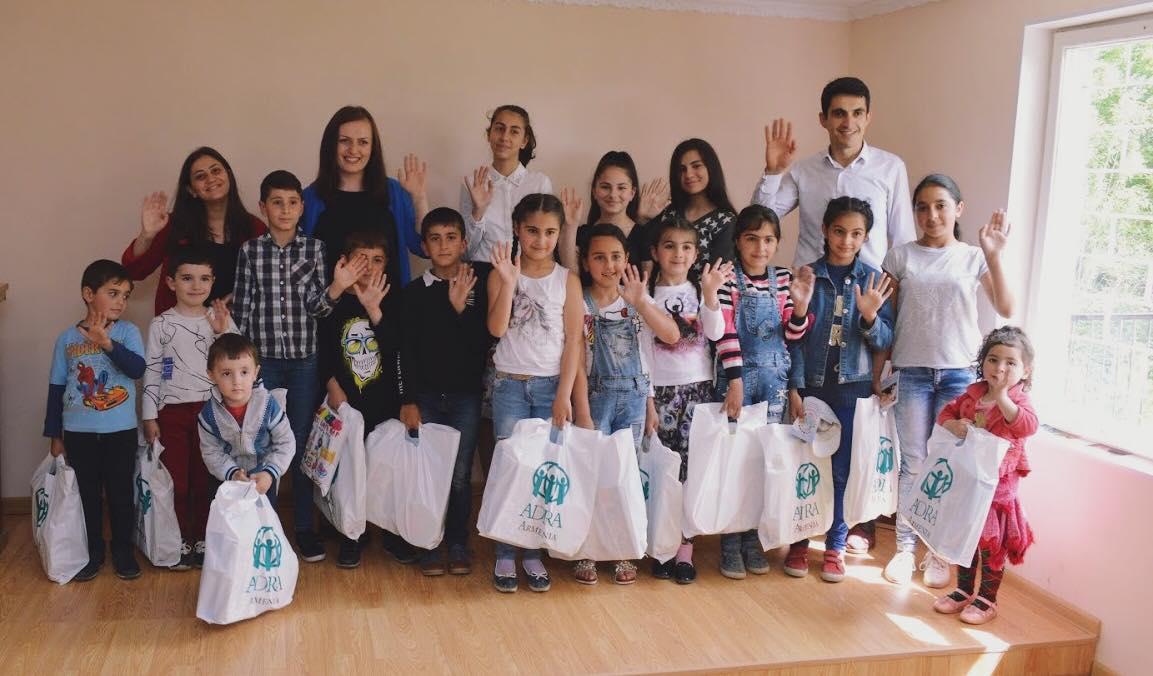 Międzynarodowy Dzień Dziecka zorganizowany w Armenii