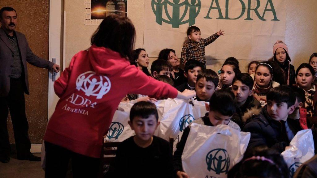Prezenty dla dzieci z Armenii