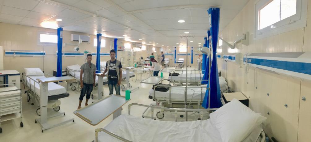 szpital uganda pomoc uchodzcom