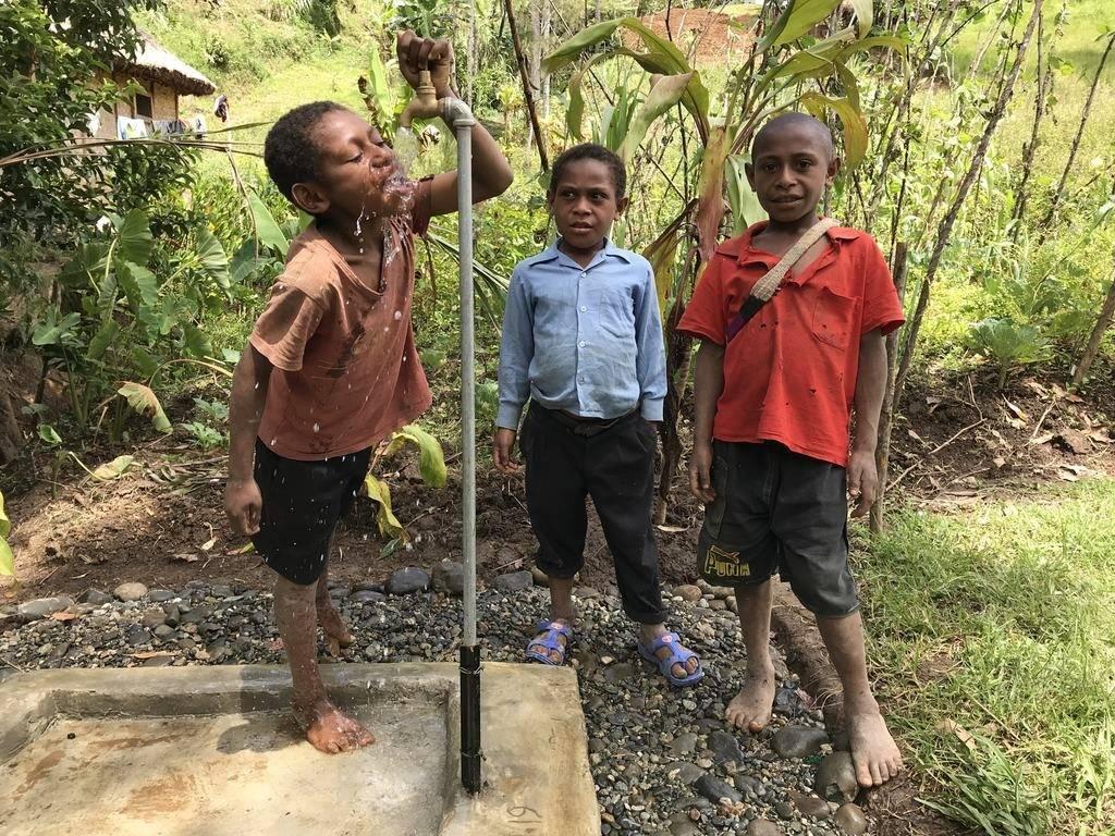 Woda pitna dla ludności Kundis