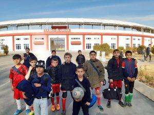 Zajęcia sportowe dla dzieci w Tadżykistanie
