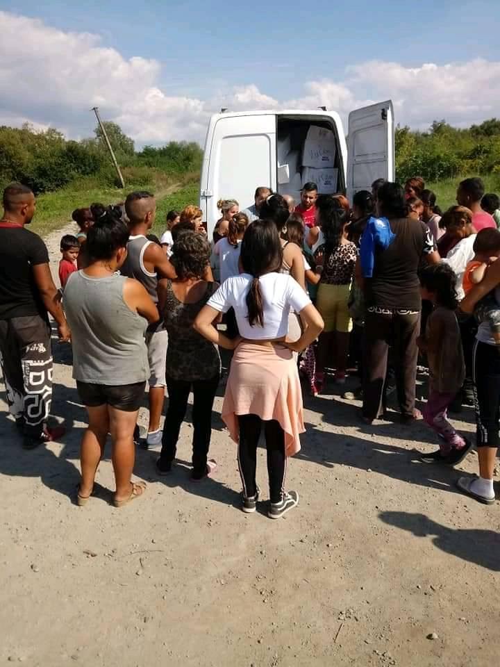 Pomoc dla społeczności romskiej na Słowacji