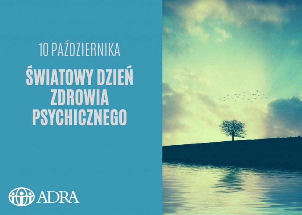 Plakat Dzień Zdrowia Psychicznego Kondycja Psychiczna
