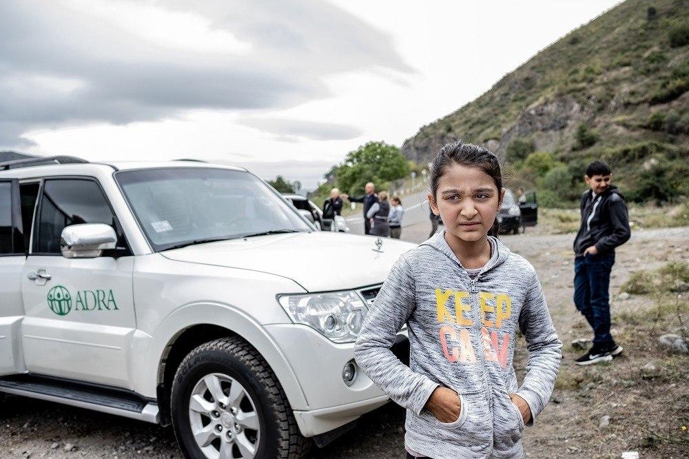 Ofiary walk w konflikcie zbrojnym o Górski Karabach Ludność Pomoc ADRA