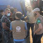 Eksplozja w Bejrucie 2020 Pomoc wolontariuszy