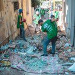 Eksplozja w Bejrucie Sprzątanie Miasta
