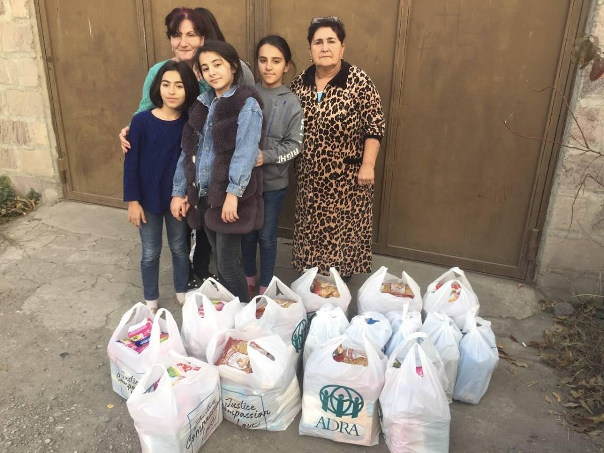 Pomoc poszkodowanym w wyniku konfliktu zbrojnego o Górski Karabach