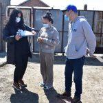 Shurenchimeg otrzymuje pomoc od fundacji ADRA
