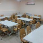 Nowe stoły i krzesła w kuchni w Vanadzor
