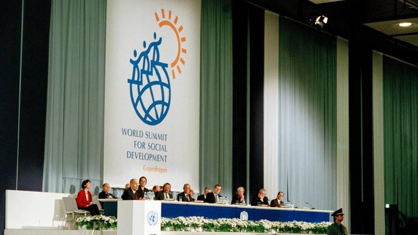 Światowy Szczyt na Rzecz Rozwoju Społecznego 1995 Kopenhaga