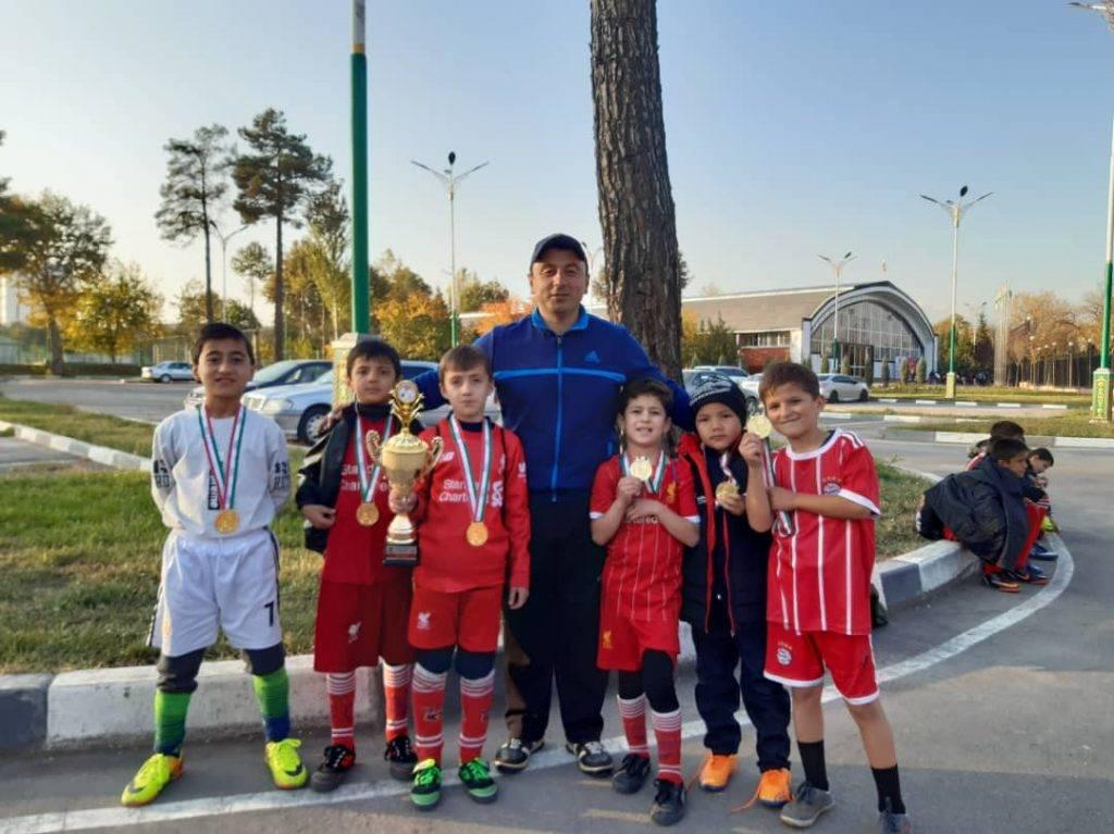 Turniej piłki nożnej dla ubogich dzieci z Tadżykistanu