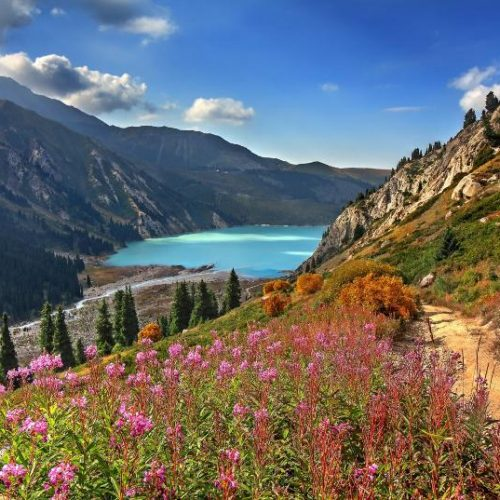 Jezioro Ałmaty