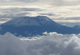 Tanzania widok na Kilimandżaro